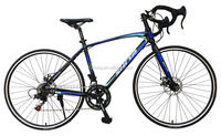 Pu Hong 2016 newest wholesale bicycle 700C high carbon steel frame 14 speed racing road bike