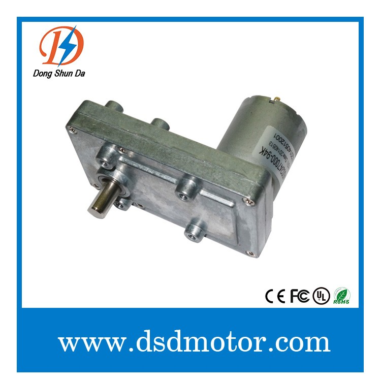 12v 24v dc right angle gear head motor