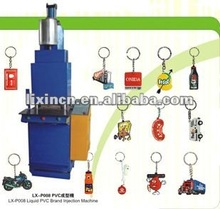 LX-P008 full automatic key chain injection moulding machine