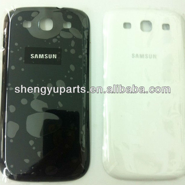 For Samsung Galaxy S3 i9300 battery case SIII I9300 back cover case housing Accept paypal