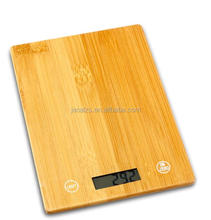 Best gift electronic food weight scale bamboo platform 5kg digital kitchen scale