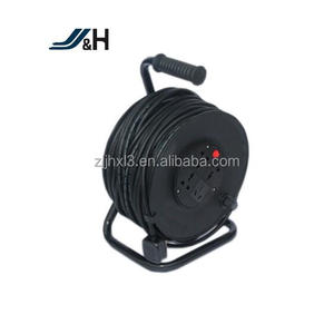 4 way multi-function retractable type extention spring loaded cable reel,automatic ethernet cable reel