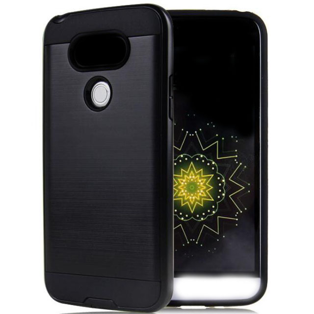 Ultra Slim Protective 2 Layer Hybrid Armor Phone Case Cover For G Mobile Phone