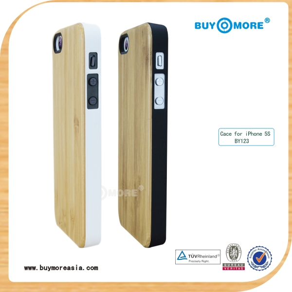 2014 offer best discount for natural pattern wooden sticker for iphone 5s