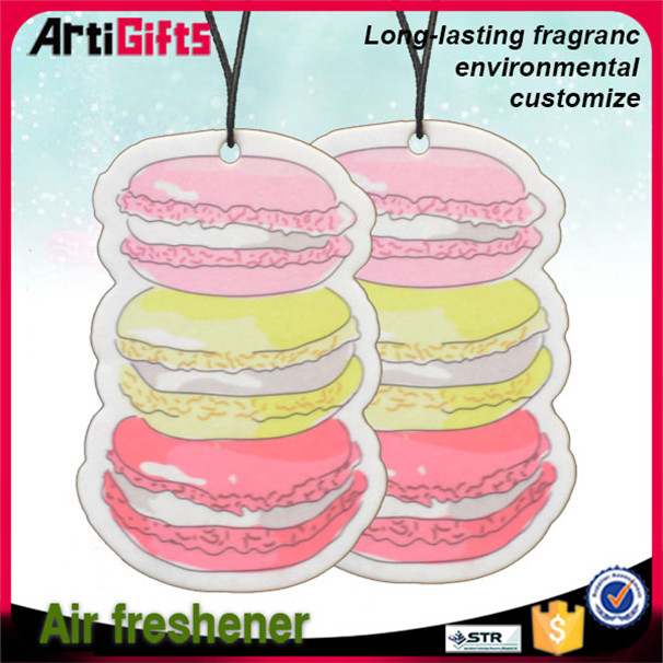 Wholesale print branded paper air fresheners