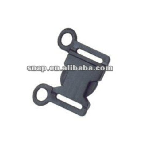 Plastic Dual Side Release Buckle for bag