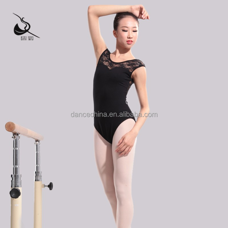 11414140 Ballet Dance Wear Black Leotard Ballet Lace Leotards