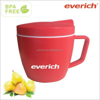 2015 New Product PP Food Container with Handle Inside with Plate and Extra Container BPA Free
