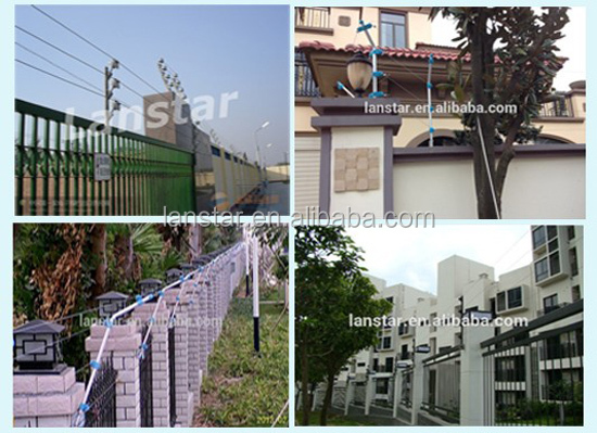 Electric fence for house garden, security fence energizer for civil property,elec fence energizer