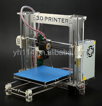 2014 new type dual head large size 3d printer with servo motor