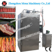 Control Stainless Steel Smoked Furnace For Beef And Sausage
