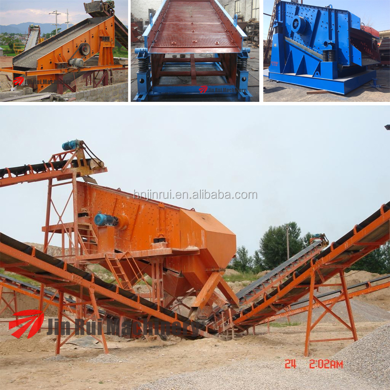 High Effiency YA series Round Vibrating Screen Classification