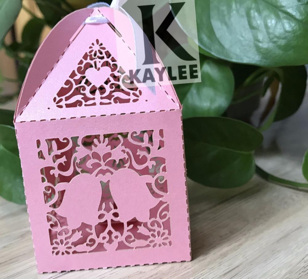 100pcsFreeshipping Bells Design Craft Chocolate Boxes,Handmade ...