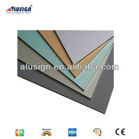 Alusign facade exterior aluminum composite panel decorative carved wood wall panels