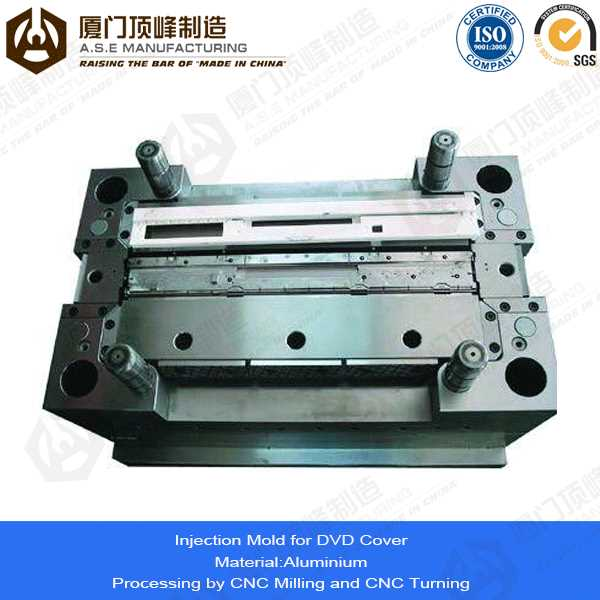 Xiamen A.S.E OEM Manufacturing Mold Parts for plastic dumpsters