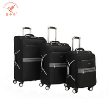Durable fashion royal trolley travel zone luggage bag pictures