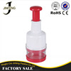 Hot Sale Ginger Garlic Vegetable Plastic Crusher Press Chopper