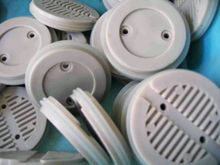 high-quality tiny white plastic injection molded filter parts