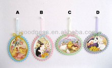 Hot Sale Spring/Easter Bunny Easter Chick Hanging Ornaments