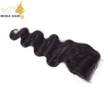 Peruvian raw human hair soft minimum shedding wholesale middle part body wave virgin hair with hair bundles with closure