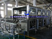 800BPH 19L barreled water rinsing filling capping machine