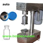 injectable powder automatic vial cap sealing machine