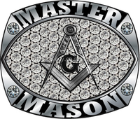 10k, 14k white gold masonic rings cz/ diamond set by hands