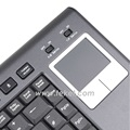 France 2.4G RF Wireless Mini Keyboard With Touchpad K8. PS/2. Support USB interface receiver.