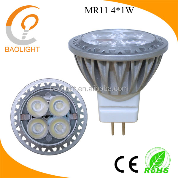 35mm 4W 3W mr11 led light 220v 12v GU4