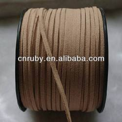 Velvet rope for necklace cord low-cost wholesale