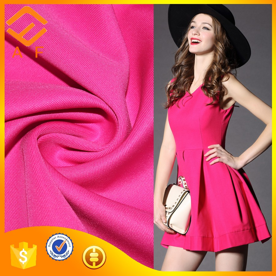 China Supplier Polyester two Way Stretch Knitting Fabric For clothing