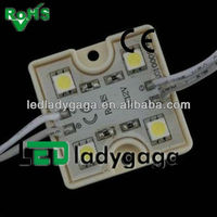 2013 Best selling advertisting lighting 12V Injection 5050 4pcs led module waterproof