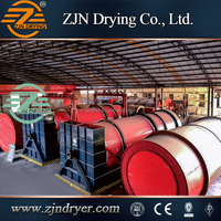China national patent certification sludge rotary drum dryer