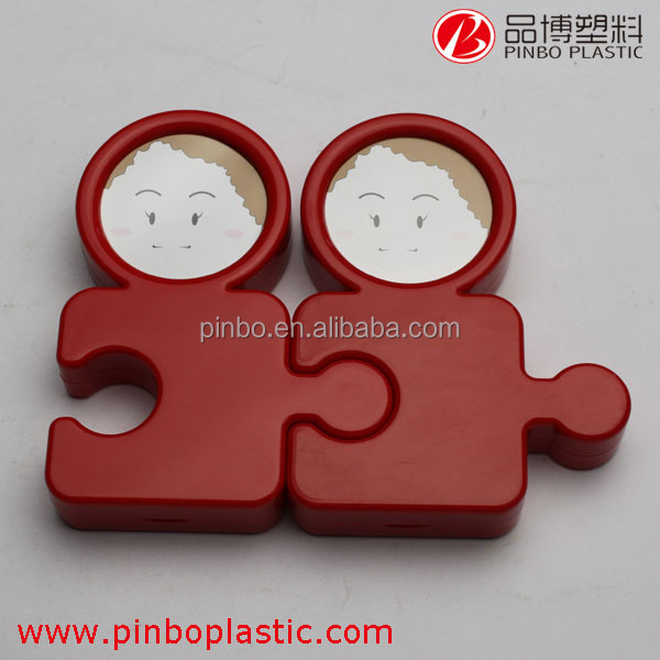 baby photo frame toys, ABS material plastic picture frame, lovely mini cheap picture frames