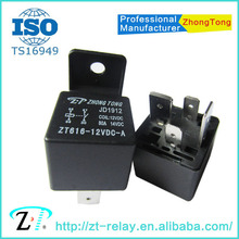 ZT616 12v 24v 4pin 5pin 80a 100a auto relay JD1912/1914 JD2912/2914 relay price