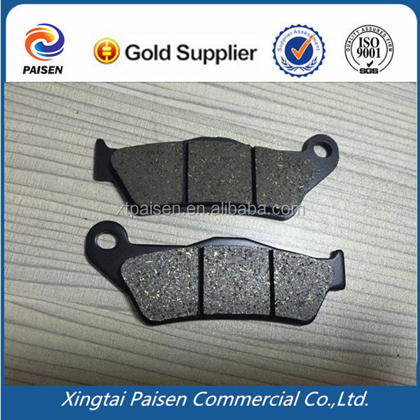 NO noise scooter /motorbike /motor cycle/pit bike sintered brake pad