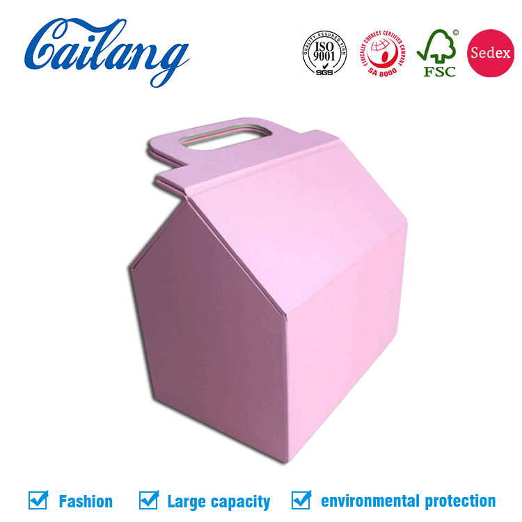 2017 hot sale alibaba newest products for Christmas customized unique shape gift packaging box