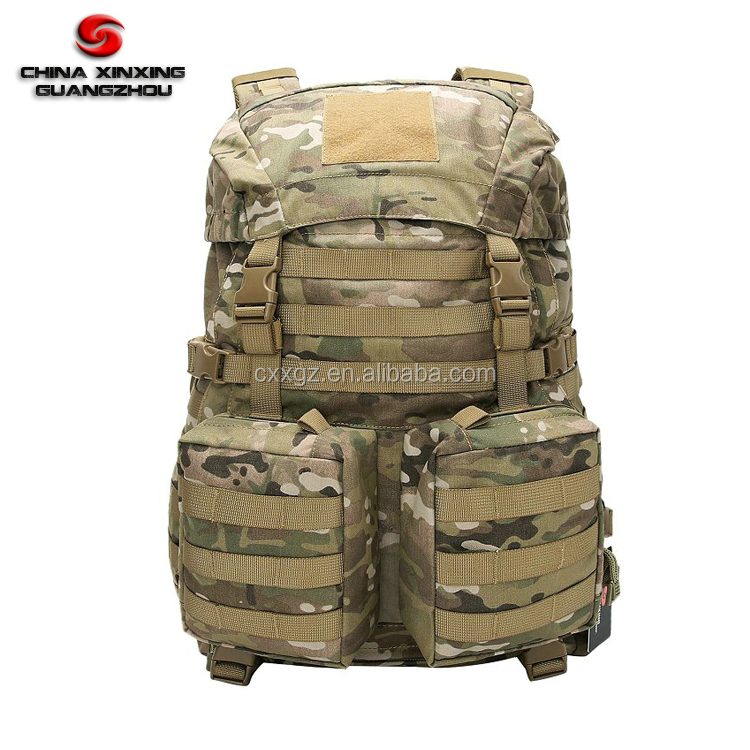 Molle Webbing Camouflage Oxford Military Camping bag Rucksack Army Back Pack