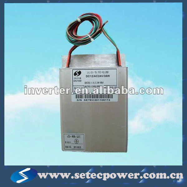 "12VDC to 24VAC power inverter (work for ""Smart Home"" electronic switchable)"