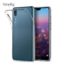 For Huawei P20 Case,Soft TPU Crystal Clear Slim Anti Slip Case Transparent Back Protective Cover for Huawei P20 5.8''