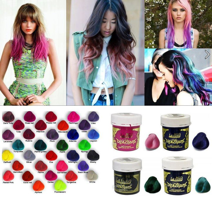 La Riche Directions Hair Dye Colour - Bright Funky Colours