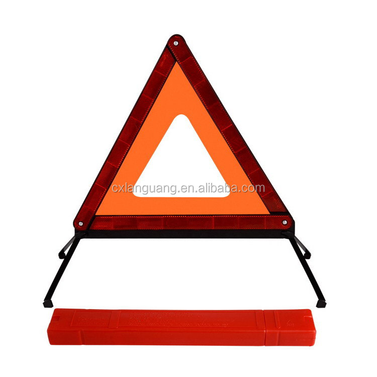 Durable stylish hot sale warning triangle distance from car