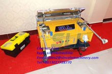 Automatic wall cement plastering machine price with 120cm plaster trowel