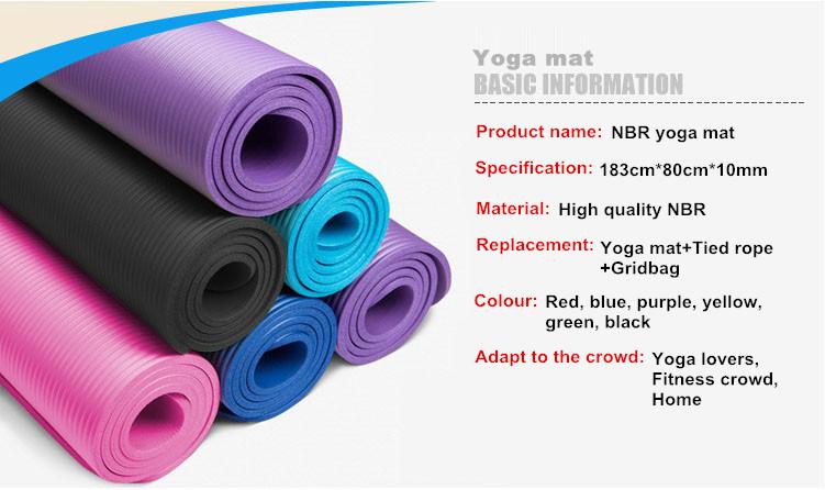 gel yoga mat