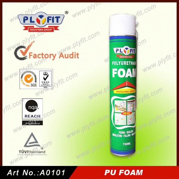 750ml PU Foam Handy Spray Polyurethane Foam