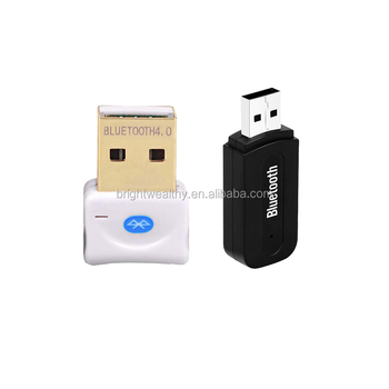0riginal factory hot sale universal 3.5mm wireless handsfree bluetooth car aux in adapter