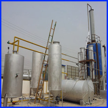 Newest 5 TONS --100 TONS capaci Continuous Used Motor Oil To Diesel Oil Distillation Machine , Used Engine Oil To Diesel