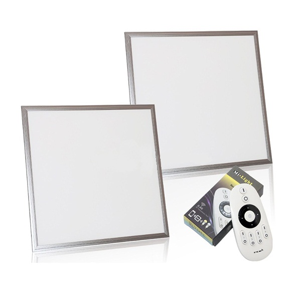 Led light panel for ceiling wall mount, square round optional with remote sensor 10w-75w 100lm/w
