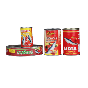 Chinese best canned sardines in brine delicious brands