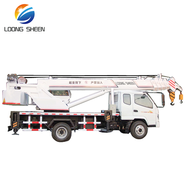 6 Wheels Cargo Crane Truck Dongfeng Truck Mounted with Crane 8TON